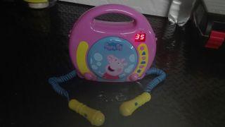 reproductor cd pepa pig