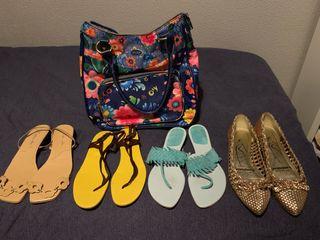 Pack bolso y sandalias