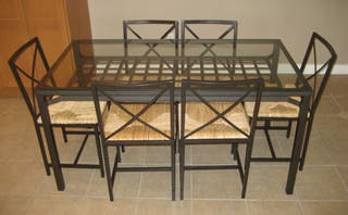 Comedor Ikea: mesa + 6 sillas