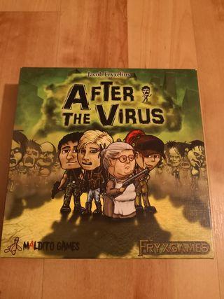 After the virus, juego de mesa, maldito games.