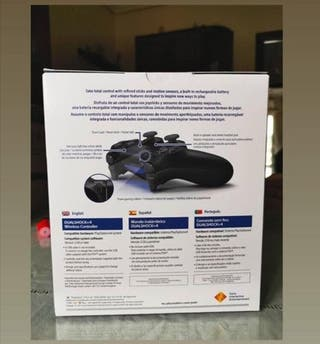 Mando de Ps4 inalambrico.