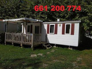 Preciosa y seminueva mobile home 7,5x3 m 2 hab