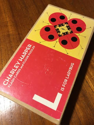 Charley Harper puzzles & flash cards