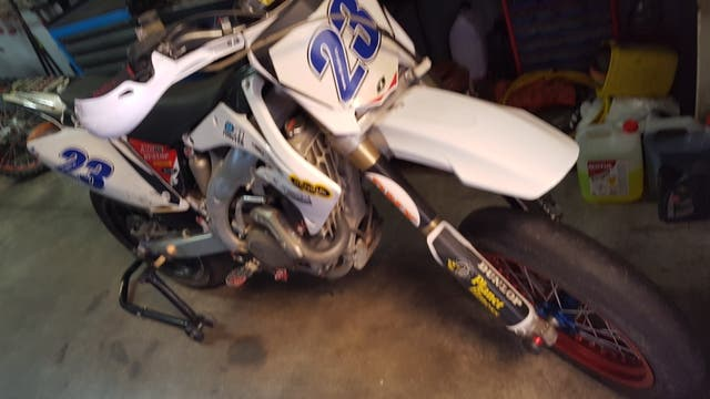 honda crf 450 Supermotard