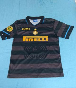 Camiseta fútbol retro Inter 97/98 Ronaldo