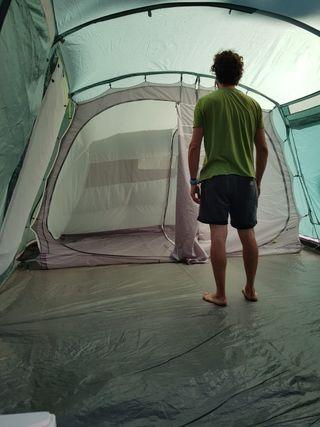 tienda campaña outwell glendale 5 y cocina camping