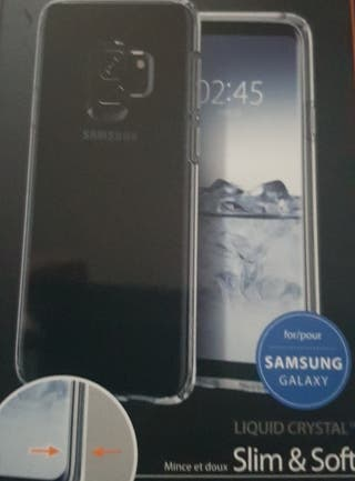 Funda de silicona para Galaxy S9
