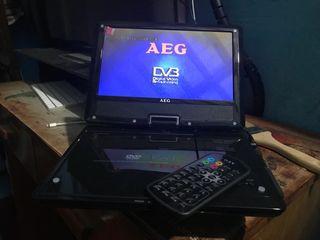 Reproductor DVD portatil y DVB-T marca AEG