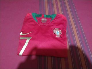 camiseta ronaldo nike portugal oficial