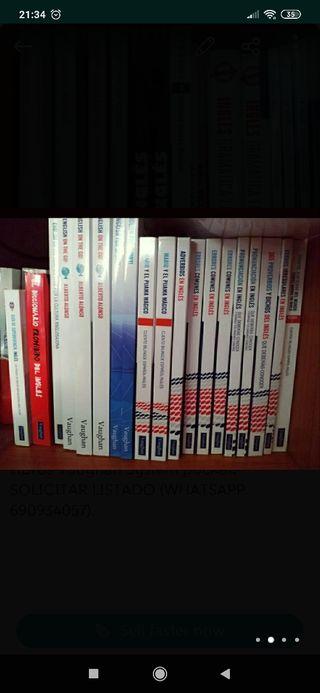 Libros inglés Vaughan System A ESTRENAR, DESDE 3€