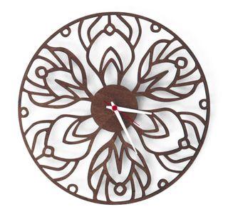 Reloj de pared de madera, 38cm