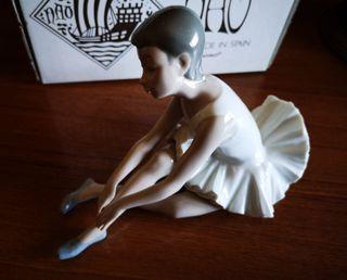 Figura Nao by Lladró Ballet zapatillas 0151