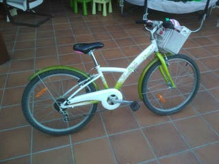"bicicleta btwin 24"" ñina"