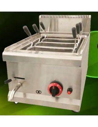 Cuece pastas a gas de 400x650x480mm / quemador de