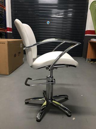Silla hidráulica de peluquería