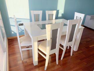 Mesa comedor con seis sillas