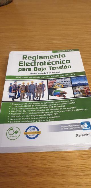 reglamento electrónico para baja tensión