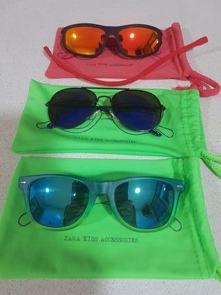 pack gafas de sol niño