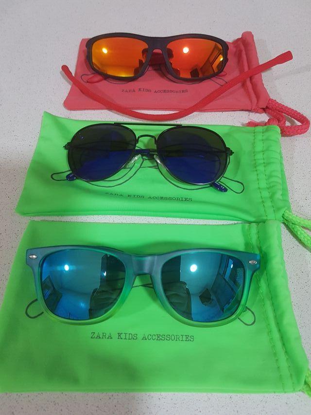 pack 3 gafas de sol niño