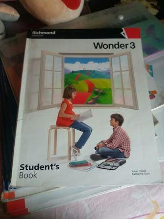 libro ingles wonder 3 de richmond