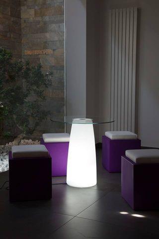 Mesa com luz rgb