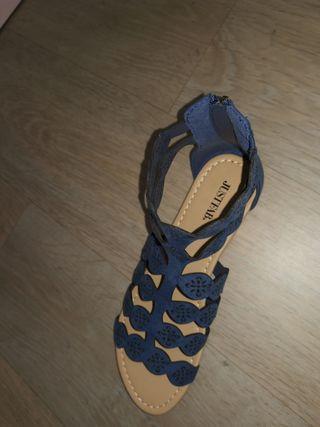 sandalles Justfab NEUVES T 6'5 (40)