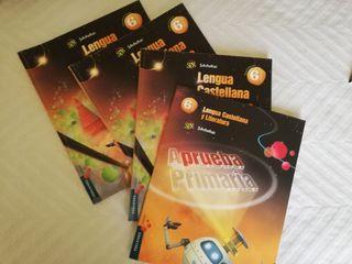 3 libros de 6° primaria lengua y literatura