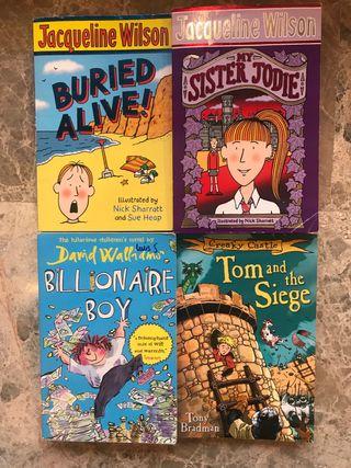 Libros infantiles/juveniles en ingles