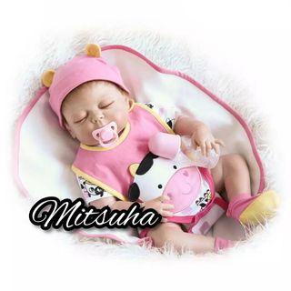Muñeco bebé reborn niña