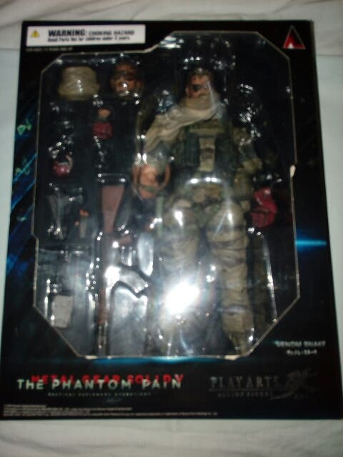 figura play arts metal gear solid
