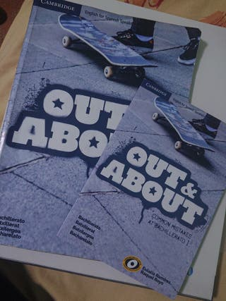 "Libro bachillerato Inglés ""All & About"""