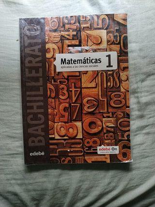 libro de matemáticas primero de bachillerato.