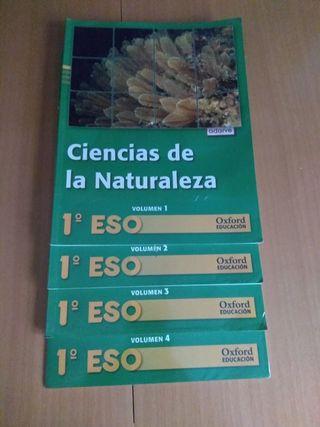 Lote Libros Ciencias de la Naturaleza 1° ESO