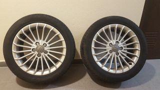4 Llantas AUDI con neumáticos