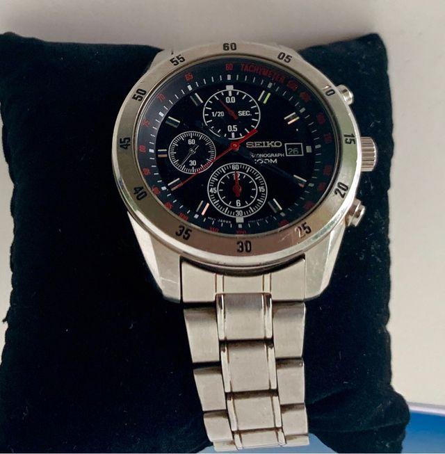 Reloj Cronógrafo Seiko Hombre Acero