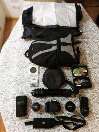 kit de Fotografía Canon Completo