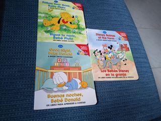 libros ingles/español Disney