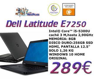 DELL LATITUDE E7250 Core i5-5º 8 gb 256gb ssd
