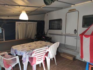 Caravana Knaus Sport 550 + Avancé + Tienda Cocina