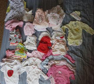 Lote de ropa bebe niña