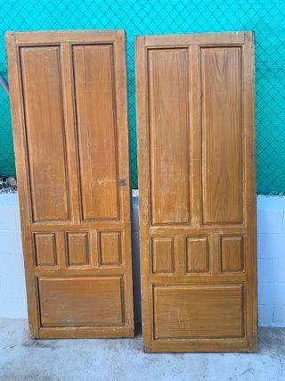 Puertas antiguas exterior