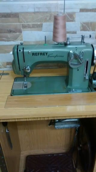 maquina de coser refrey transform 427
