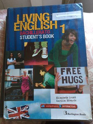 Libro LIVING ENGLISH 1 de bachillerato