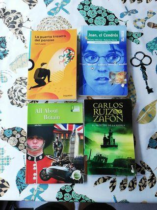 Libros de lectura para la ESO