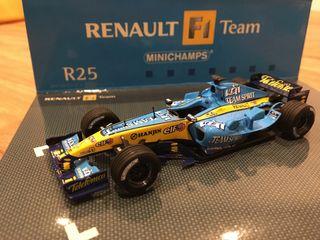 R25 Renault F1 Fernando Alonso 1/43