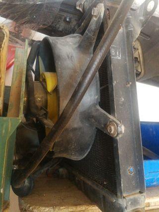 ventilador y radiador seat fura crono y gl