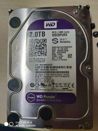 Disco duro 2.0TB