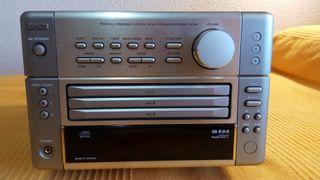 Mini cadena HIFI compacta CD x3 Denon UD-M5