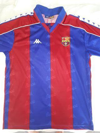 Camiseta retro (1992-1995) del FC Barcelona