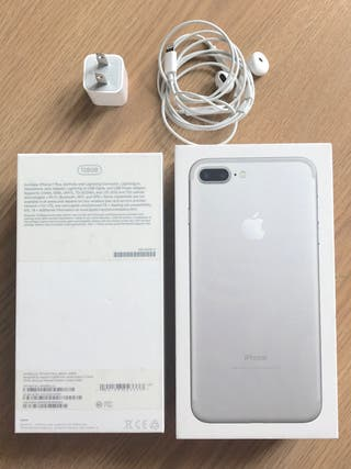 Iphone 7 plus 128G plata